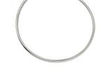 """Chisel Stainless Steel 5mm Tubago""""s Necklace style: SRN117820"""