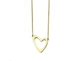 Chisel Stainless Steel Yellow Ip-plated Polished With 2in Ext. Necklace style: SRN143917