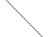 Chisel Stainless Steel 2.50mm Oxidized Fancy Chain Necklace style: SRN160924