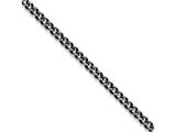 Chisel Stainless Steel 7.50mm Oxidized Curb Chain Necklace style: SRN161124