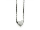 Chisel Stainless Steel Polished Heart Necklace style: SRN178816