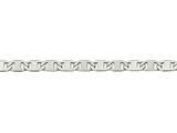 Chisel Stainless Steel Polished 5.00mm Anchor Chain Bracelet style: SRN188075