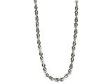 Chisel Stainless Steel Polished 3.30mm  Fancy Link Chain Necklace style: SRN188620