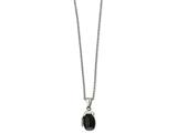 Chisel Stainless Steel Black Ip Grenade Necklace style: SRN193916