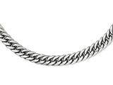 Chisel Stainless Steel Polished 24in Double Curb Chain Necklace style: SRN196724