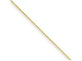 Chisel Yellow Rhodium Over Brass 1.50mm Plated Ball Chain Necklace style: SRN21116