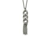Chisel Stainless Steel Oval Chain With 2in Ext. Necklace style: SRN21681625