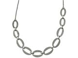Chisel Stainless Steel Polished Laser Cut W/1.75in Ext. Necklace style: SRN220117