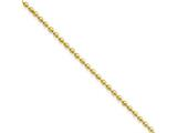 Chisel Stainless Steel Ip Gold-plated 2.0mm 24in Ball Chain Necklace style: SRN222GP24