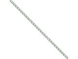 Chisel Stainless Steel 3mm Curb Chain Necklace - 18 inches style: SRN225