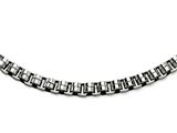 Chisel Stainless Steel Circular Links 24in Necklace style: SRN41224