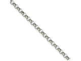 Chisel Stainless Steel 4.60mm 18in Rolo Chain Necklace style: SRN65418