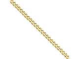 Chisel Stainless Steel Ip Gold-plated 3.0mm 22in Curb Chain Necklace style: SRN688GP22