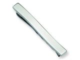 <b>Engravable</b> Chisel Stainless Steel Tie Clip style: SRT105