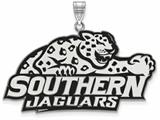 LogoArt Sterling Silver Southern University Xl Enamel Pendant - Chain Included style: SS004SAM