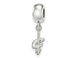 LogoArt Sterling Silver Cleveland Cavaliers Bead Charm Charm Xs Dangle Bead Charm style: SS026CAV
