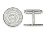 LogoArt Sterling Silver East Carolina University Crest Cuff Link style: SS056ECU