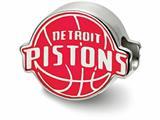 LogoArt Sterling Silver Detroit Pistons Detroit Pistons On Basketball Enameled Extruded Logo Bead Charm style: SS500PST