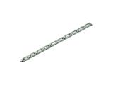 Chisel Titanium Brushed and Polished Bracelet - 8.5 inches style: TBB110