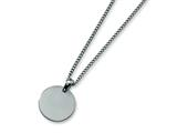 Chisel Titanium Brushed Necklace - 22 inches style: TBN116