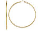 Finejewelers 14k Yellow Gold Hoop Earrings style: TF550