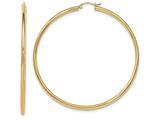 Finejewelers 14k Yellow Gold Hoop Earrings style: TF551