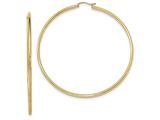 Finejewelers 14k Yellow Gold Light Weight Hoop Earrings style: TF580