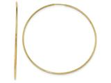 Finejewelers 14k Yellow Gold Polished Endless Tube Hoop Earrings style: TF801