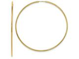 Finejewelers 14k Yellow Gold Endless Hoop Earrings style: TF803