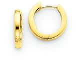 Finejewelers 14k Yellow Gold Hinged Hoop Earrings style: TM607