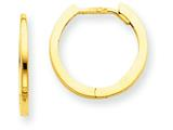 Finejewelers 14k Yellow Gold Hinged Hoop Earrings style: TM615