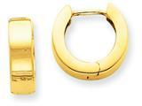 Finejewelers 14k Yellow Gold Hinged Hoop Earrings style: TM632