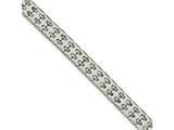 Chisel Tungsten Polished Link Bracelet style: TUB12385