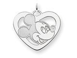 Disney Mickey Heart Charm style: WD112SS