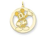 Disney Waving Mickey Charm style: WD114GP