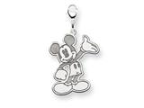 Disney Waving Mickey Lobster Clasp Charm style: WD115SS