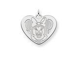 Disney Minnie Heart Charm style: WD140SS
