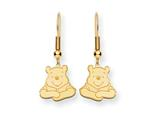 Disney Winnie the Pooh Dangle Wire Earrings style: WD159GP