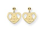 Disney Winnie the Pooh Heart Dangle Post E style: WD166GP
