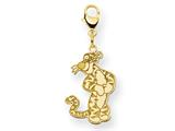 Disney Tigger Lobster Clasp Charm style: WD203GP