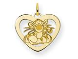 Disney Tigger Heart Charm style: WD204GP