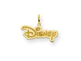Disney Disney Logo Charm style: WD208GP