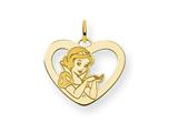 Disney Snow White Heart Charm style: WD214GP