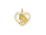 Disney Jasmine Heart Charm style: WD243GP
