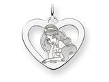 Disney Jasmine Heart Charm style: WD243SS
