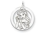 Disney Belle Round Charm style: WD248SS