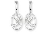 Disney Tinker Bell Hoop Earrings style: WD253SS