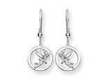 Disney Tinker Bell Round Dangle Wire Earr style: WD258SS