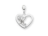 Disney Tinker Bell Heart Lobster Clasp Ch style: WD263SS
