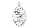 Disney Tinker Bell Oval Charm style: WD286SS